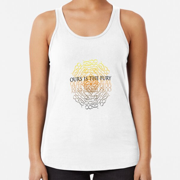 Stag Ours is the Fury Racerback Tank Top