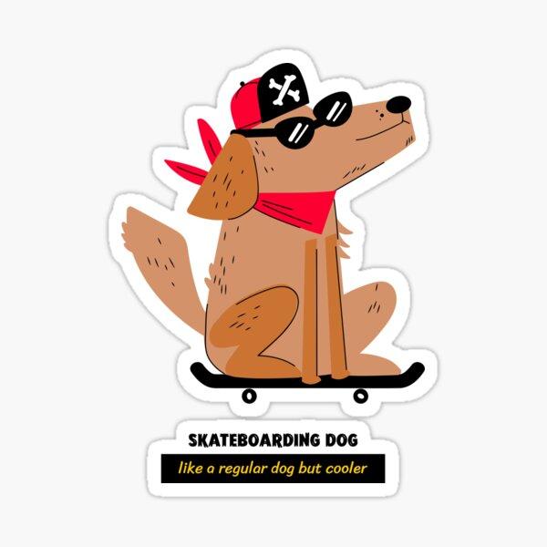 Enjoi Dog Pooper Skateboard Sticker skate board new bmx guitar sk8 skateboarding