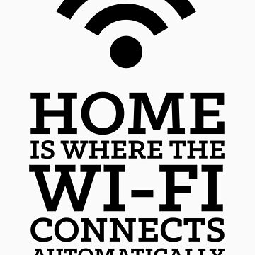 Home is where the WiFi connects automatically by AmpersandCo