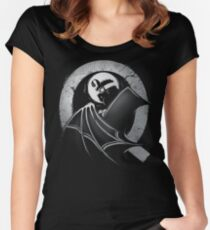 The Dark Quail Women's Fitted Scoop T-Shirt
