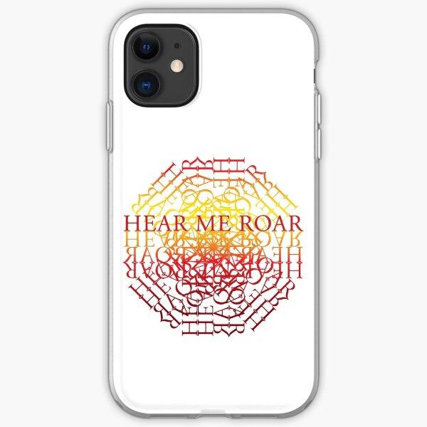 Lion Hear Me Roar iPhone Soft Case