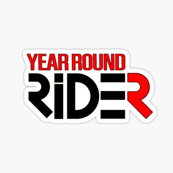 Year Round Rider Sticker