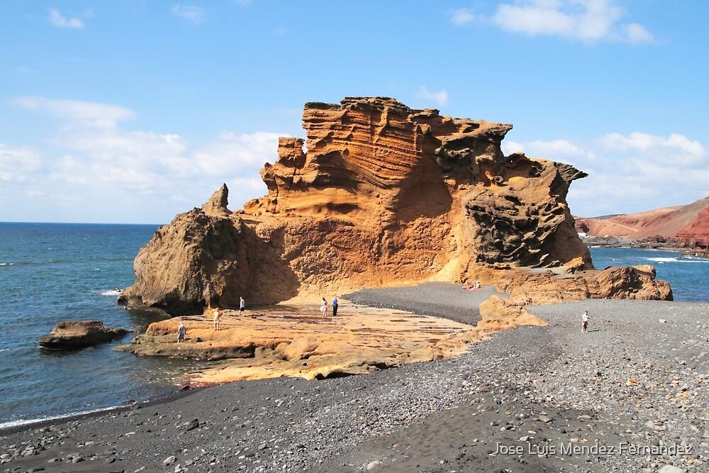 Clicos Lake in Lanzarote by Atman Victor
