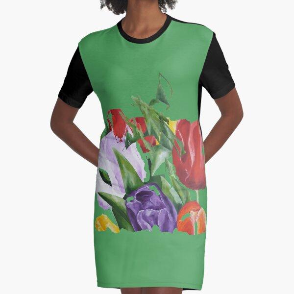 Tulpen van Nederland. Graphic T-Shirt Dress