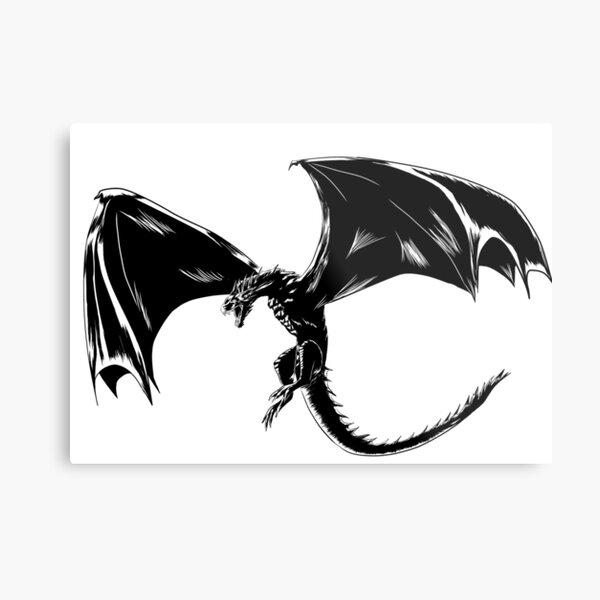 Drogon Metal Print