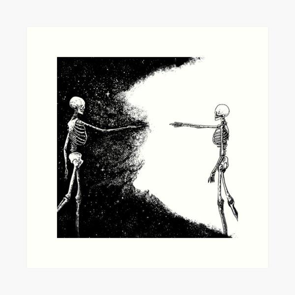 Never Alone.. Art Print