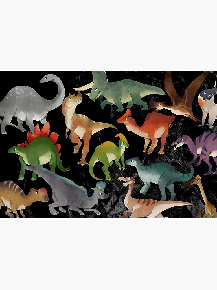 Dinosaurs Children Pattern  by michisway