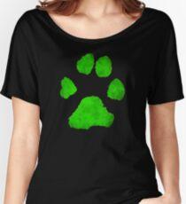 Noir Paw Women's Relaxed Fit T-Shirt