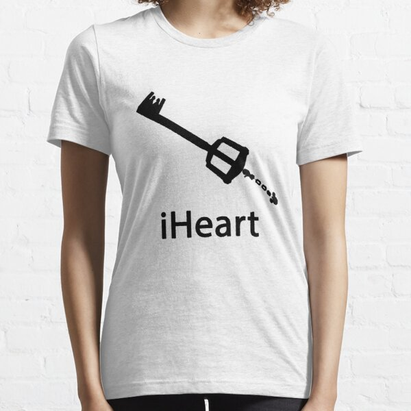 iHeart (Kingdom Hearts iPod Parody) Essential T-Shirt