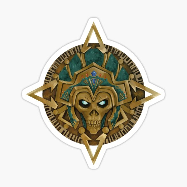 Revenant Aztec Calendar Apex Legends Sticker