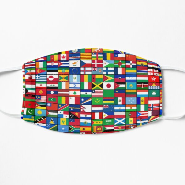 The World's Flags Mask
