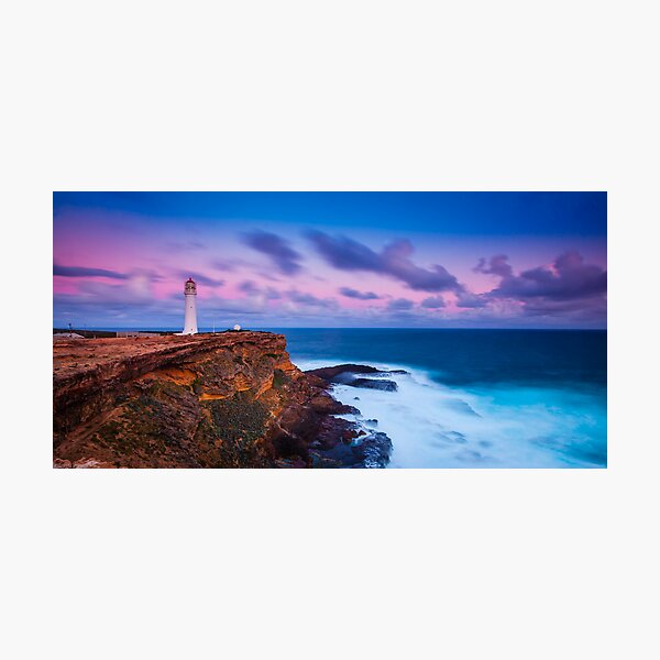 Cape Nelson Lighthouse - Dusk Photographic Print