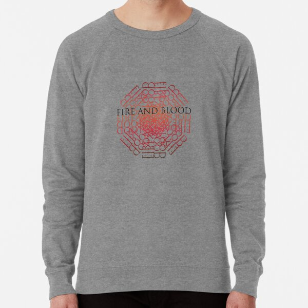 Dragon Fire and Blood Lightweight Sweatshirt