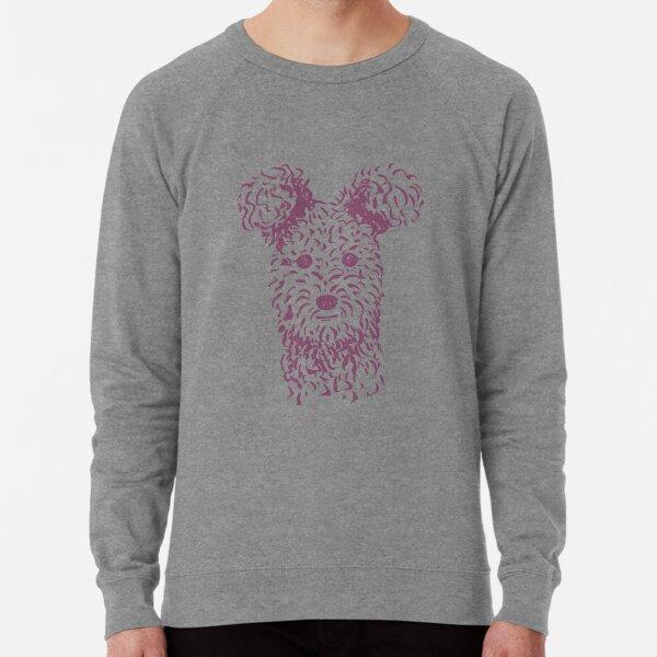 Pumi (Pink and Purple) – New Artwork Placement Lightweight Sweatshirt