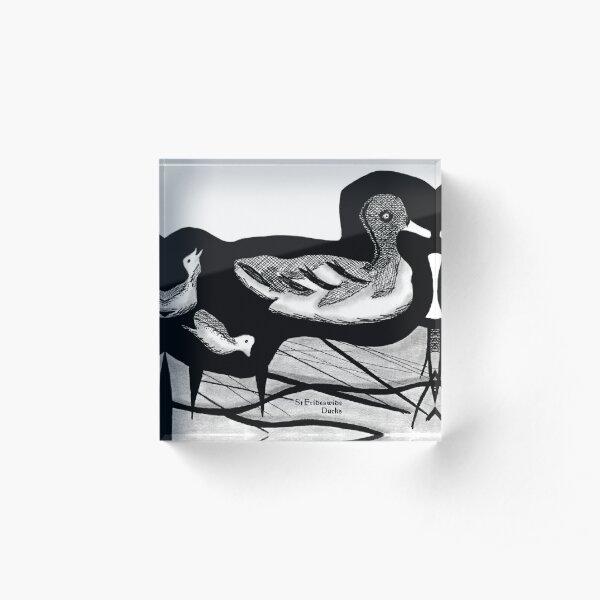 St Frideswide Ducks Acrylic Block