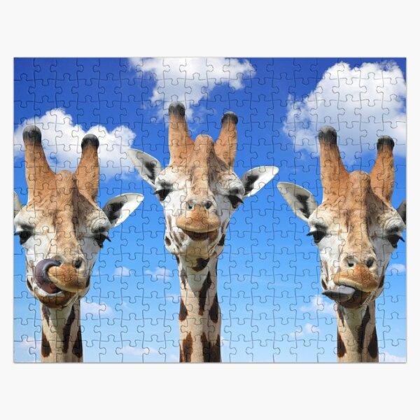 Funny Giraffe Photography  Jigsaw Puzzle