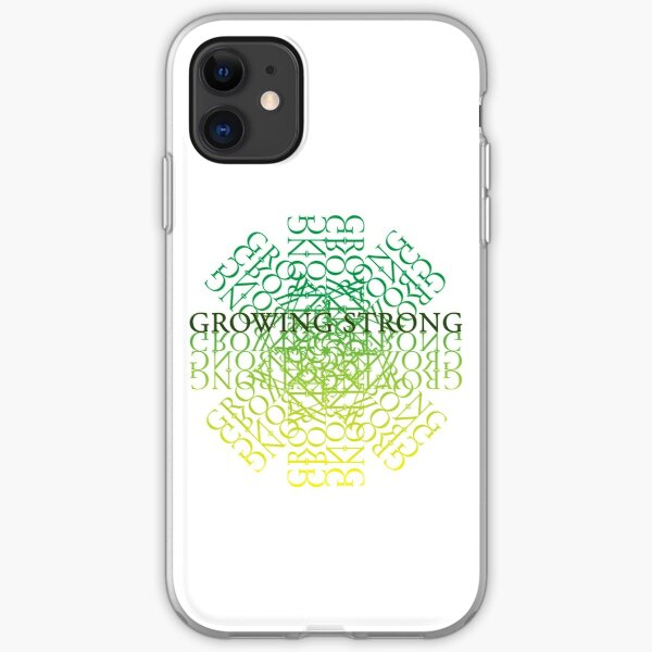 Rose Growing Strong iPhone Soft Case