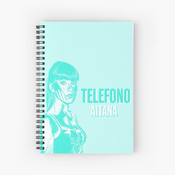 AITANA TELÉFONO Cuaderno de espiral