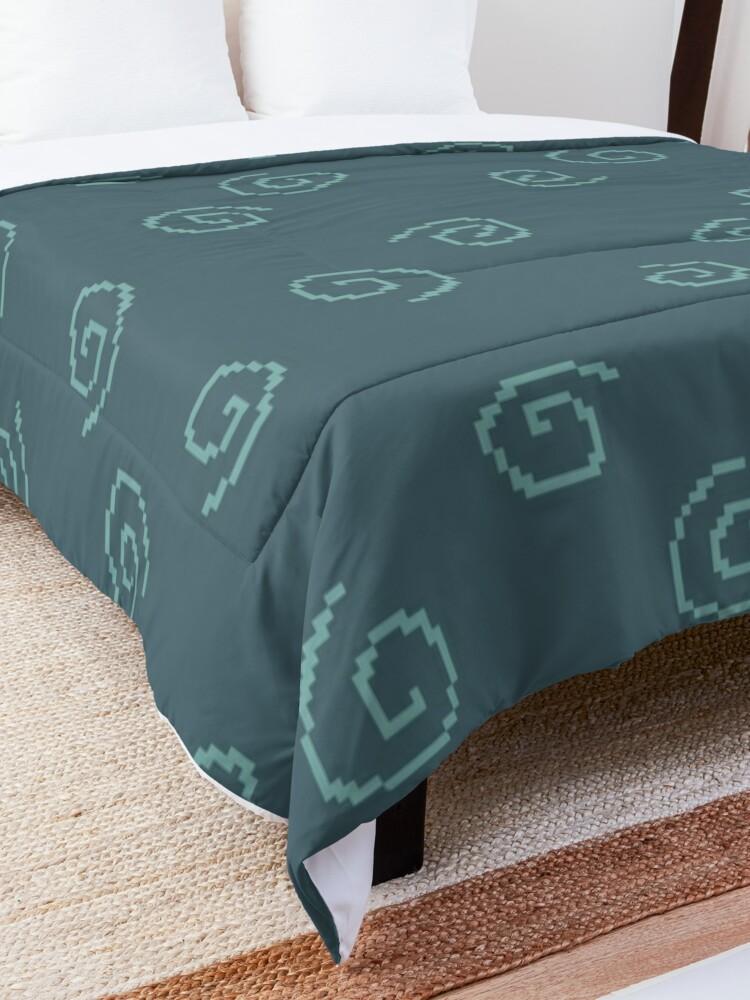 Alternate view of Jill's kotatsu Comforter
