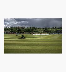Durham CCC Cricket Pitch  Photographic Print