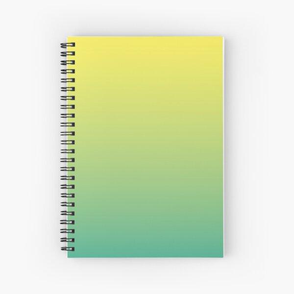 Lemon Mint Spiral Notebook
