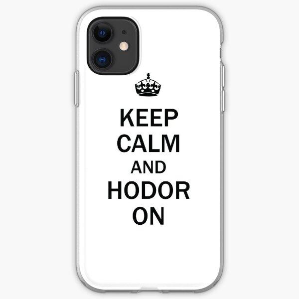 Keep Calm iPhone Soft Case