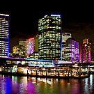 Vivid Circular Quay - Sydney - Australia by Bryan Freeman
