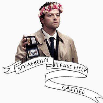 Somebody help Castiel by wllgraham