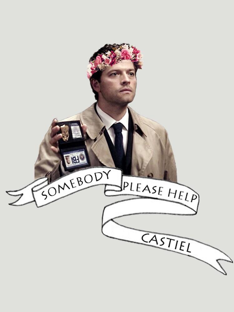 Somebody help Castiel | Unisex T-Shirt