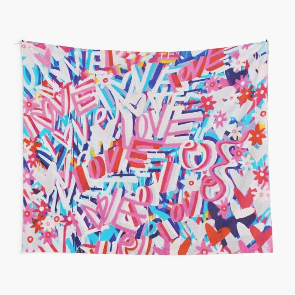 LOVE LOVE LOVE Tapestry