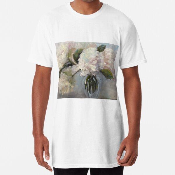 Magnificent Hydrangeas Long T-Shirt