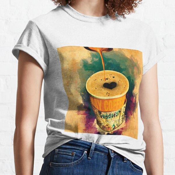 Ruin Pub Coffee On the Go with Graffitti wrap Classic T-Shirt