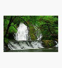 Green Peak Falls, Oregon Photographic Print