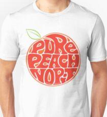 Pure Peach Fruit Artwork Large T-Shirt