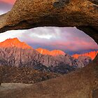 Sunrise at Mobius Arch by Alla Gill
