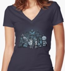 These aren't the droids you are looking for Women's Fitted V-Neck T-Shirt