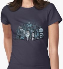 These aren't the droids you are looking for Women's Fitted T-Shirt
