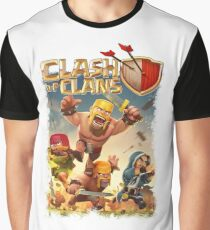 COC War Graphic T-Shirt