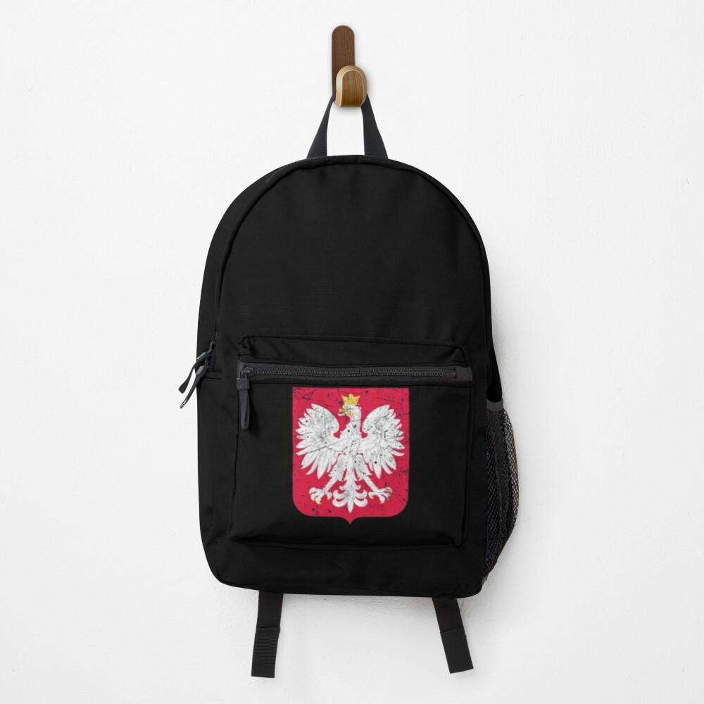 Poland Coat Of Arms Backpack
