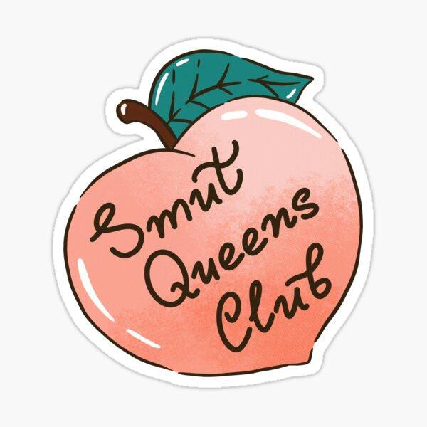Smut Queen Club Sticker