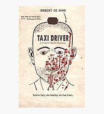 Taxi Driver Photographic Print