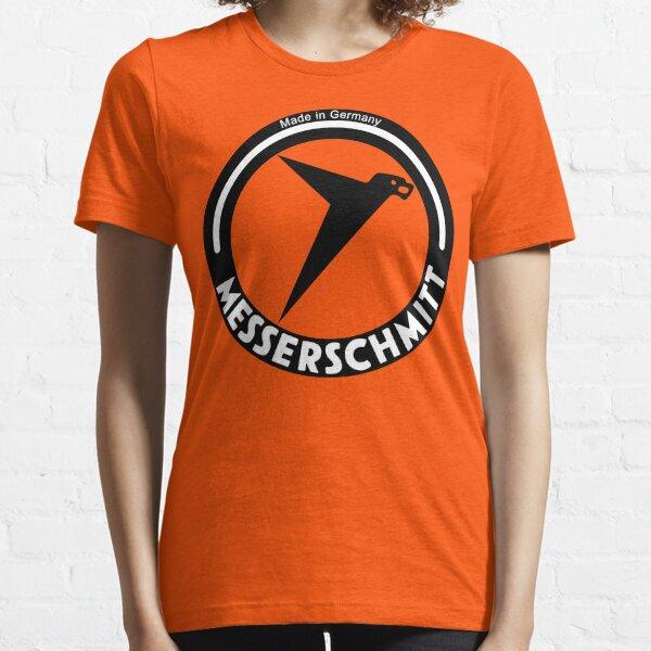 Messerschmitt Aircraft Company Logo (Black) Essential T-Shirt