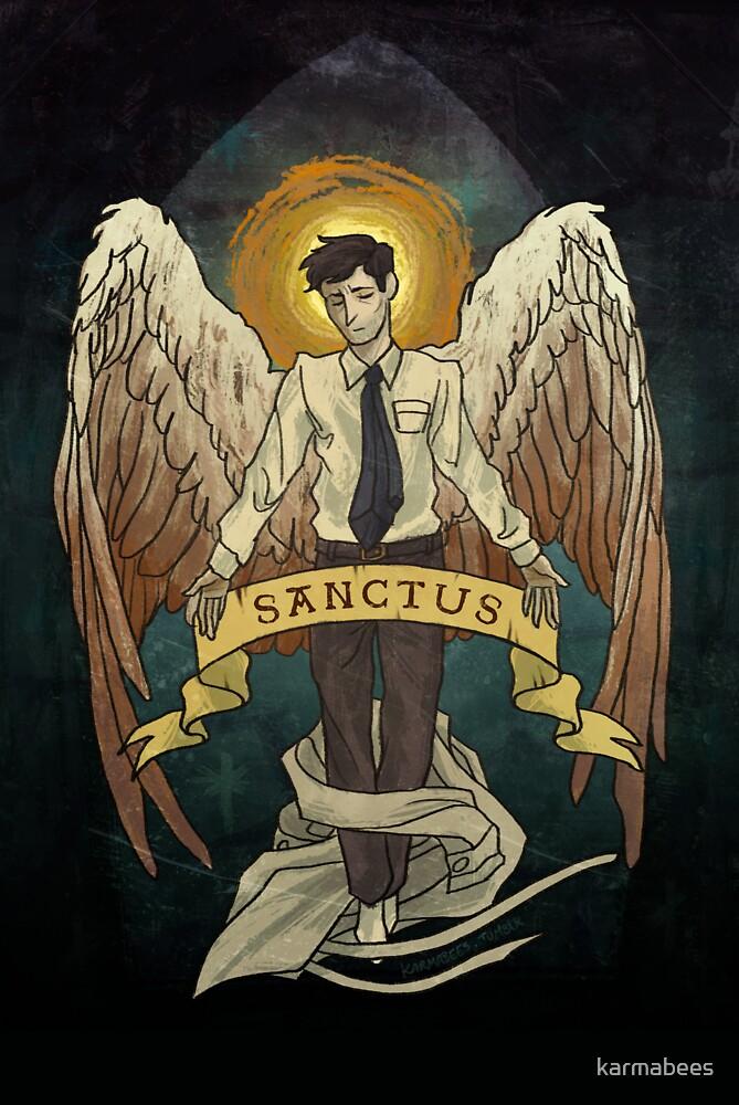 Sanctus by karmabees