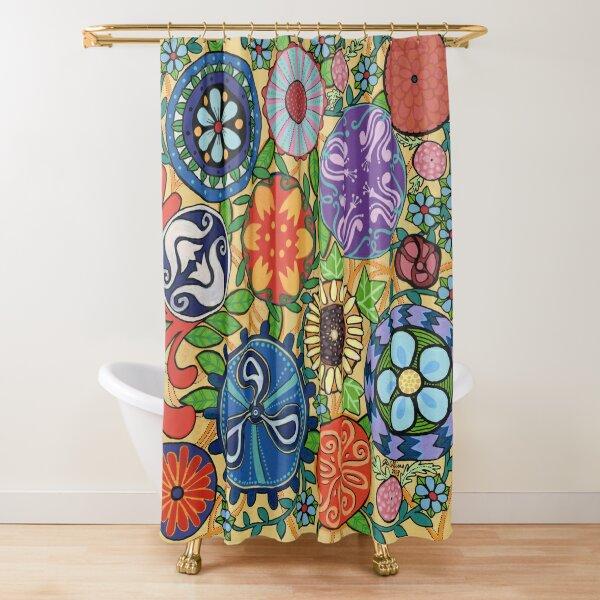Garden of Cognitive Disinhibition Shower Curtain