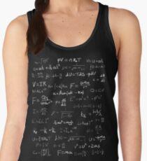 Physics - handwritten Women's Tank Top