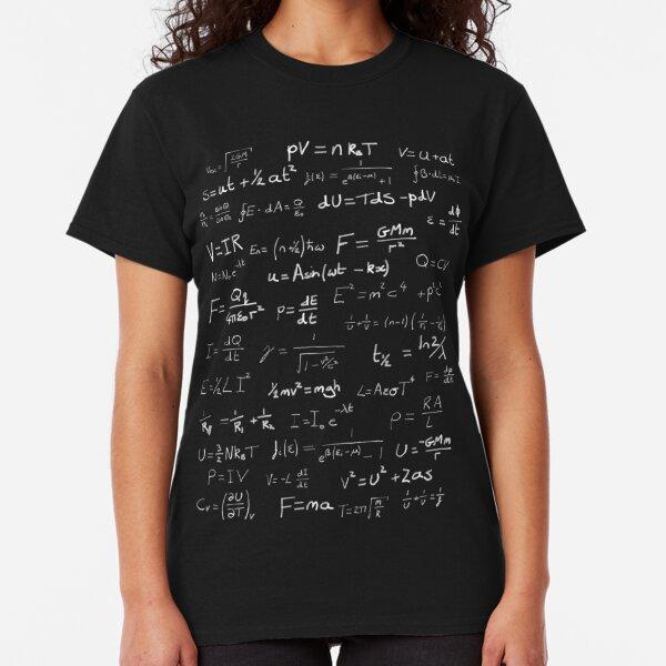 Physics - handwritten Classic T-Shirt
