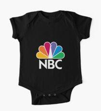 NBC Logo - White One Piece - Short Sleeve