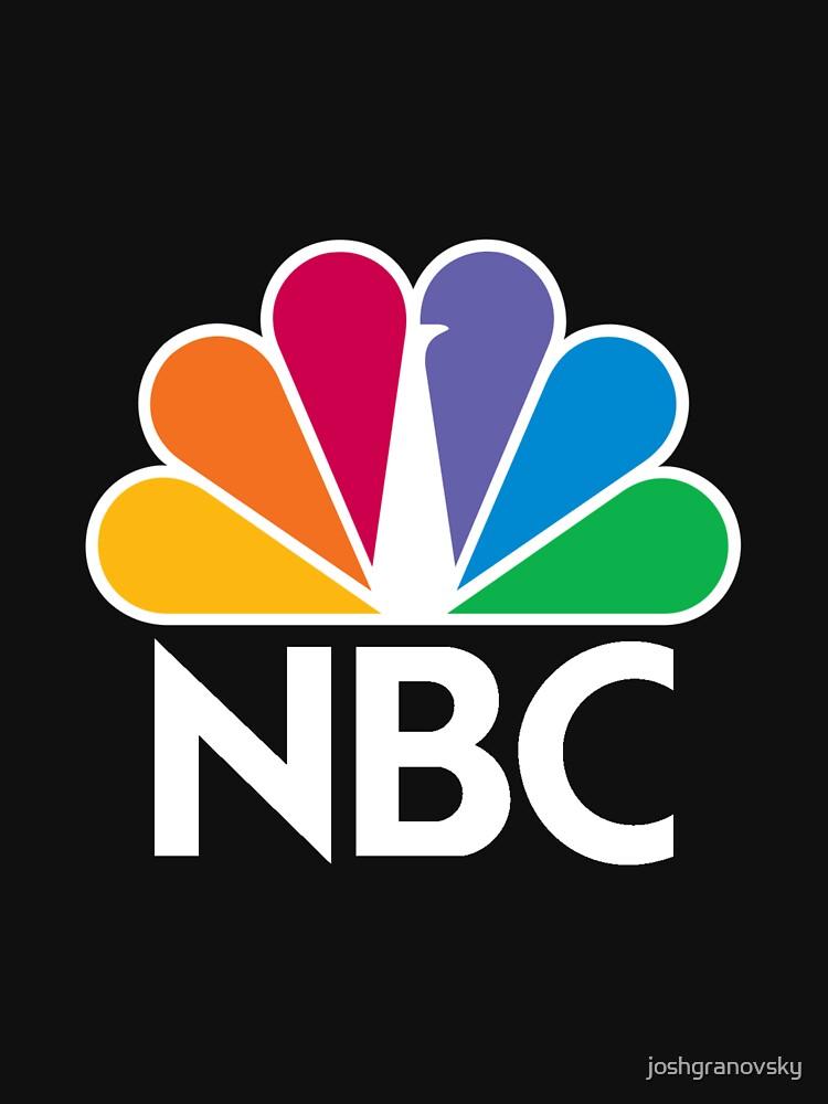 TShirtGifter presents: NBC Logo - White | Unisex T-Shirt