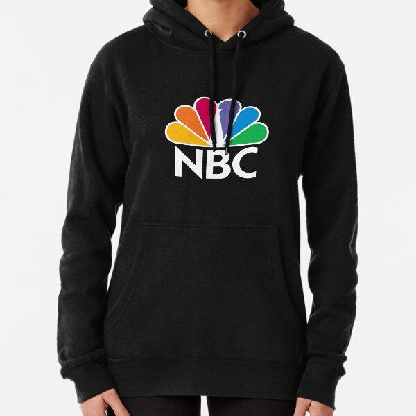 NBC Logo - White Pullover Hoodie