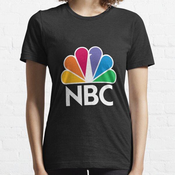 NBC Logo - White Essential T-Shirt
